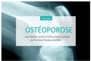 L'ostéoporose commune est multifactorielle. Elle associe les effets de l'âge, de la ménopause, de la maigreur, de l'immobilisation ou de la sédentarité, mais aussi ceux des déficits et des déséquilibres nutritionnels.
