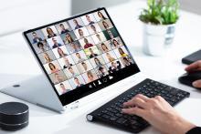 Avec la pandémie, les mesures de distanciation et le télétravail, les réunions virtuelles ont explosé, avec des centaines de millions de personnes qui utilisent chaque jour, les différentes applications de visioconférence (Visuel Adobe Stock 340095251)