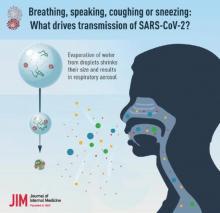 Les gouttelettes vocales entraînent un risque élevé de transmission du SRAS-CoV-2 en intérieur (Visuel NIDDKD)